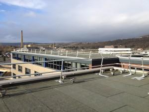 montiertes amh Dachgeländer