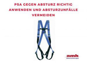 PSA gegen Absturz Bloggrafik